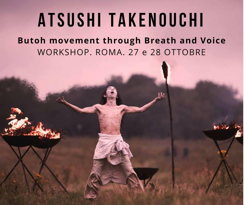 Atsushi Takenouchi - JINEN BUTOH / SCHEDULE